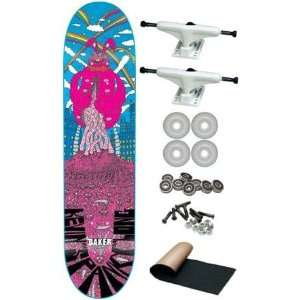 Long Super Jack Complete Skateboard New on Sale: Sports & Outdoors