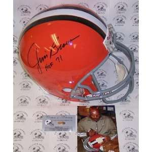 Creative Sports AFSRCB BROWN HOF Jim Brown Hand Signed