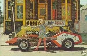 George Barris Voxmobile Show Rod Postcard