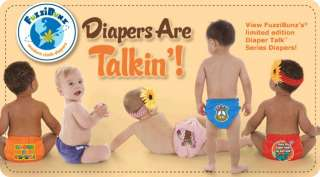 DIAPER TALK * LIMITED EDITION ONE SIZE ELITE POCKET CLOTH DIAPERS
