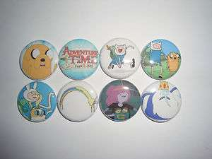 ADVENTURE TIME WITH FINN AND JAKE Buttons Pins Badges Ice King Lady