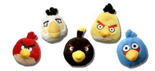 Angry Birds 8 Plush With Sound Set Of 8 Birds & Pigs