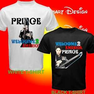 Prince Concert Tour Welcome 2 America Custom T shirt
