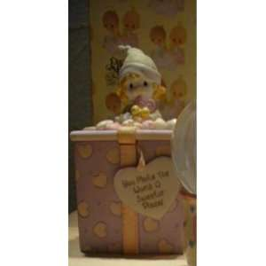 Clown Covered Box   Precious Moments 700126