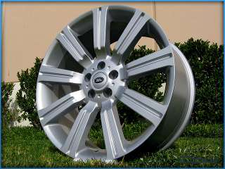 22 INCH WHEELS RIMS TIRES PACKAGE RANGE ROVER LAND ROVER LR4 SPORT
