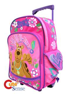 Scooby Doo Pink Backpack 2
