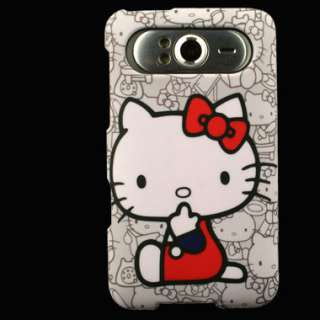 Case for HTC HD7 HD7S Hello Kitty Cover Snap Clip on