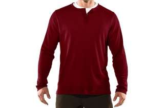 Under Armour Mens Longsleeve Waffle Henley Shirt
