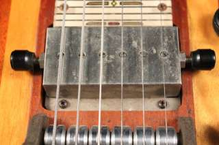 1950 National TRIPLEX lap STEEL guitar CHORD CHANGER!!!