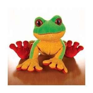 2007 Webkinz LilKinz Plush Green Tree Frog 6 #HS109