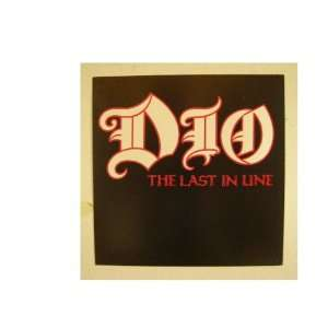 Ronnie James Dio Poster The Last In Line Black Sabbath