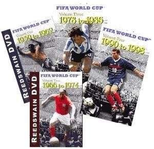 FIFA World Cup History Collection Soccer DVDs