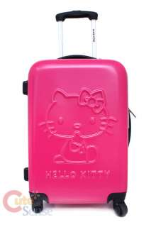 Sanrio Hello Kitty Trolley Bag Emblms Luggage Pink 2