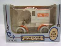 Ertl V&S Variety Stores 1905 Ford Delivery Car Bank MIB