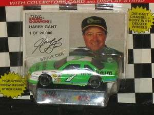 1994 HARRY GANT #7 MANHEIM FORD STOCK CAR W/STAND 1:64