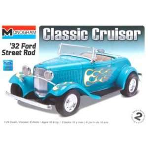 24 32 Ford Street Rod (Plastic Model Vehicle) Toys & Games