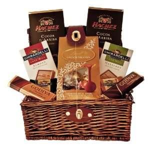Gourmet Chocolates From Around the World Valentines Day Gift Basket
