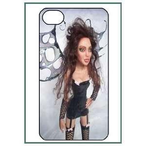 Angelina Jolie iPhone 4s iPhone4s Black Designer Hard Case