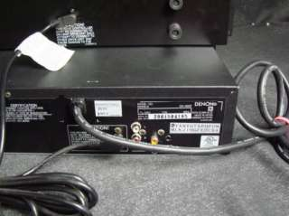 Denon Dual CD Player DN1800F Rack Gear w/ Power Cable DN 1800F