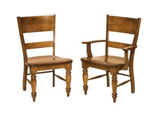 Solid Wood Farmhouse Dining Table Set Chairs French Country Distressed