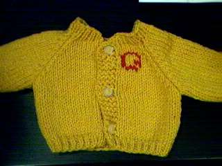 Cardigan Sweater Handmade for American Girl Doll