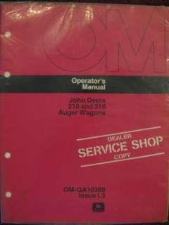 John Deere 210 310 Auger Wagon Operator Manual