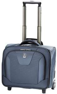 MaxLite 2 Wheeled Rolling Laptop Tote Carry On Luggage Blue 4011113