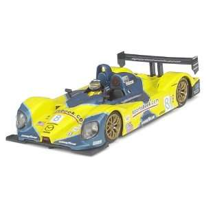 C65 Mazda yel/blue #8 Slot Car (Slot Cars)  Toys & Games