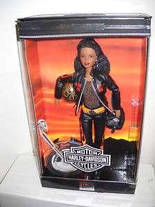2160 NRFB Mattel Toys R Us Harley Davidson Barbie #5 African American