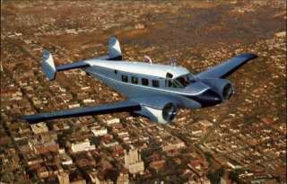1959 BEECHCRAFT SUPER 18 Twin Engine Airplane Old PC