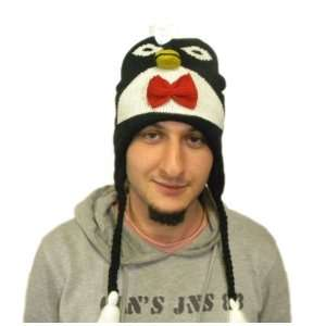 Knit Penguin Hat Animal Brand New High Quality acyrlic special price