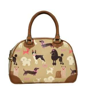 Dog Carrier Classic Bowling Style Pet Traveling Bag for