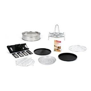 The sharper Image Super wave oven 4 piece baking set Accessory Muffin