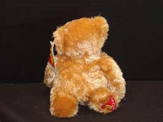NEW DAKIN PLUSH BROWN TEDDY BEAR STUFFED ANIMAL TOY FOOT PATCH