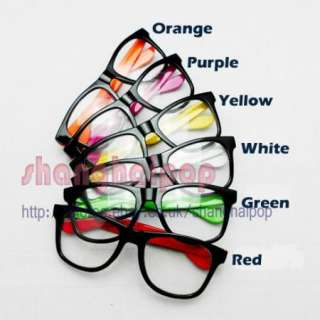 Glasses Frame NO Lens Skull Wayfarer Party Fancy Dress Costume