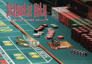 Atlantic City, New Jersey, Craps Table, Gambling, Casino Chips