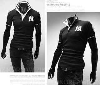 polo Shirt Slim Casual Shirts Fit Short sleeved T shirts FREE SHIP Q03