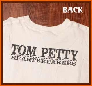 Rare Vintage Tom Petty 2001 Rock Concert Tour T Shirt XL