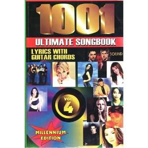 1001 Ultimate Soundbook,lyrics with Guitar Chords, Vol.4