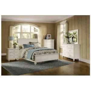 Savannah White 7 PC King Bedroom Package