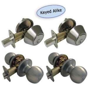 Keyed Alike Entry Lock Deadbolt Schlage Sc4 Keyway