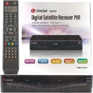 Slimsat 5000 Digital FTA Satallite Receiver PVR