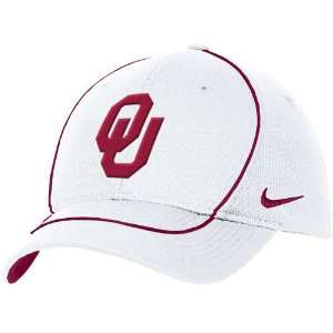 Nike Oklahoma Sooners White Coaches Hat