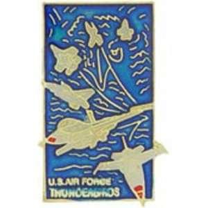 U.S. Air Force Thunderbirds Logo Pin 1 Arts, Crafts