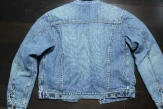 Boys/Young Men Abercrombie and Fitch Lined Denim Jean Jacket. Size XL