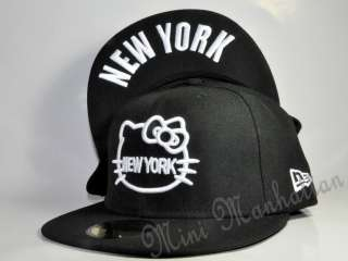 HELLO KITTY NEW YORK NEW ERA 59Fifty Fitted CAP HAT