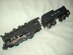 Scale American Flyer no. 574 Switcher 0 8 0 Loco & Tender
