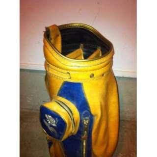 Miller Brown and Navy Blue Golf Bag