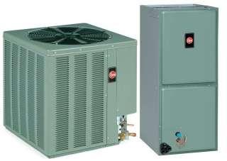 Ton Rheem 16 SEER R 410A Air Conditioner Split System