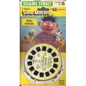 Sesame Street Baby Animals View Master 3 Reel Set   21 3d